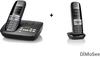 Siemens GIGASET CX610A ISDN-Basis m. AB + 2. Mobilteil C610H Duo schnurlos Telefone