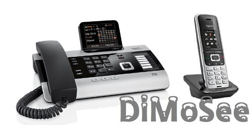 GIGASET DX600A ISDN-Basis inkl. S850HX Mobilteil