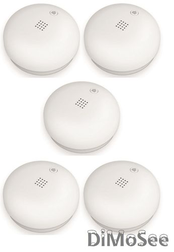 Telekom Smart Home Rauchmelder DECT 5er Set NEU/OVP