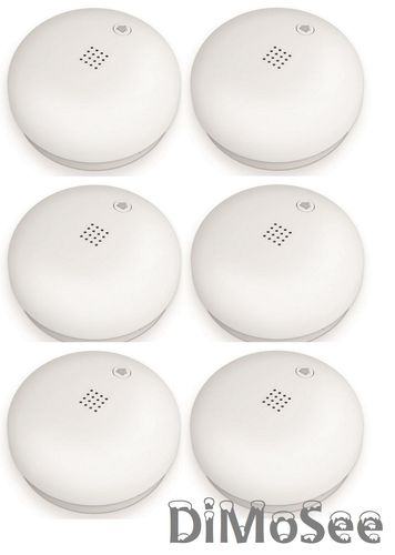 Telekom Smart Home Rauchmelder DECT 6er Set NEU/OVP