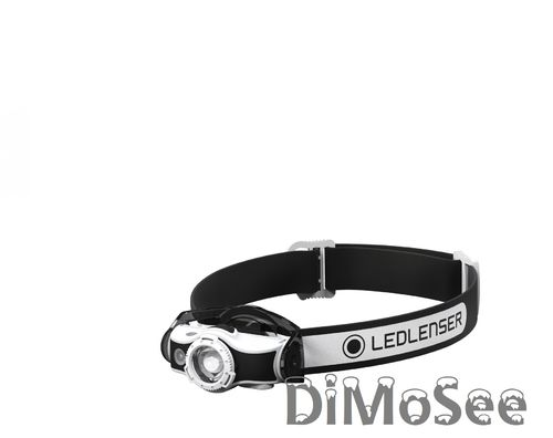 LED Lenser® MH5 LED Stirnlampe Kopflampe + 2. Satz Batterien